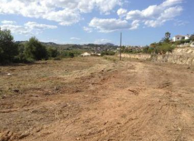 Site in Moraira (Costa Blanca), buy cheap - 225 000 [65701] 2